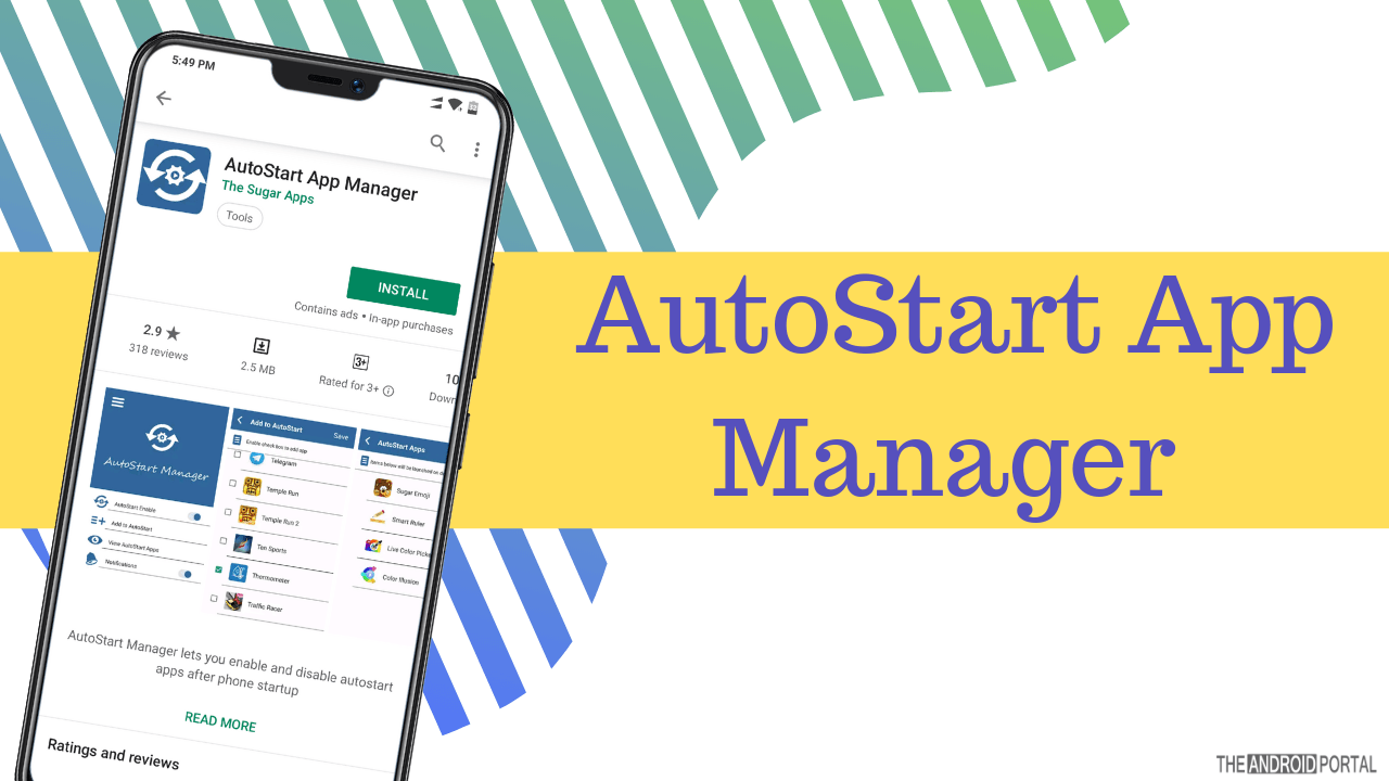 AutoStart App Manager Android app