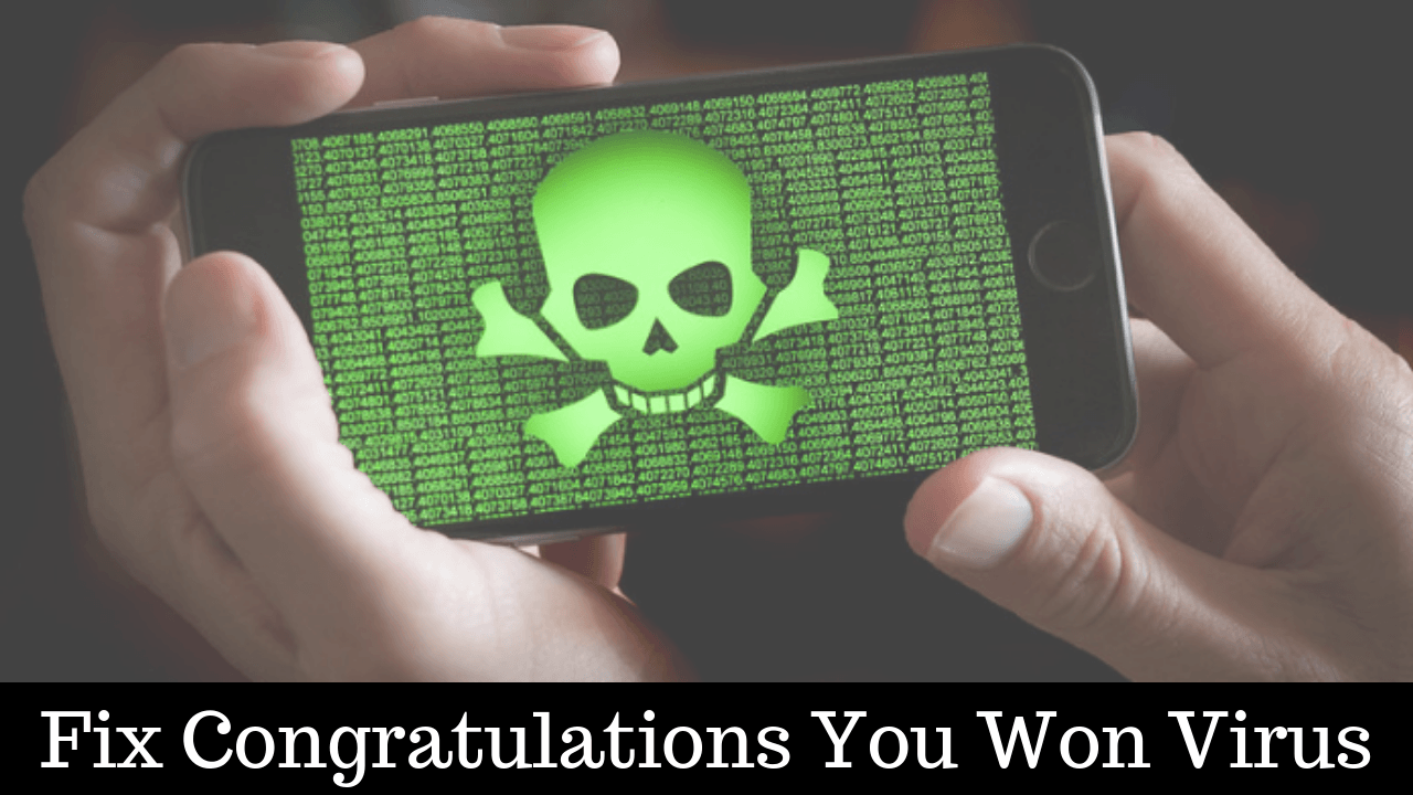 How To Remove Congratulations You Are Todays Winner