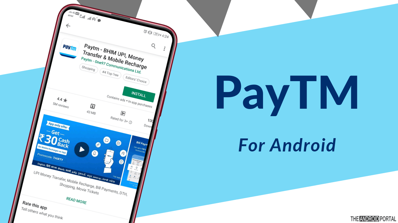 Best Android Apps For Money Transfer In India - TheAndroidPortal