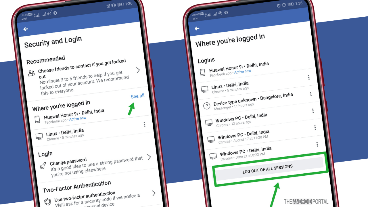 How To Logout of Facebook on All Devices in 2019