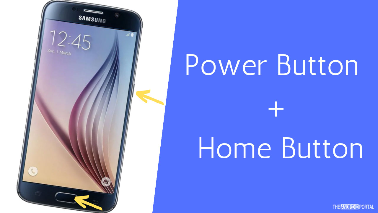 How To Take Screenshots On Galaxy S6 Using Power Button + Home Button