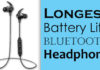 Longest Battery Life Bluetooth Headphone.