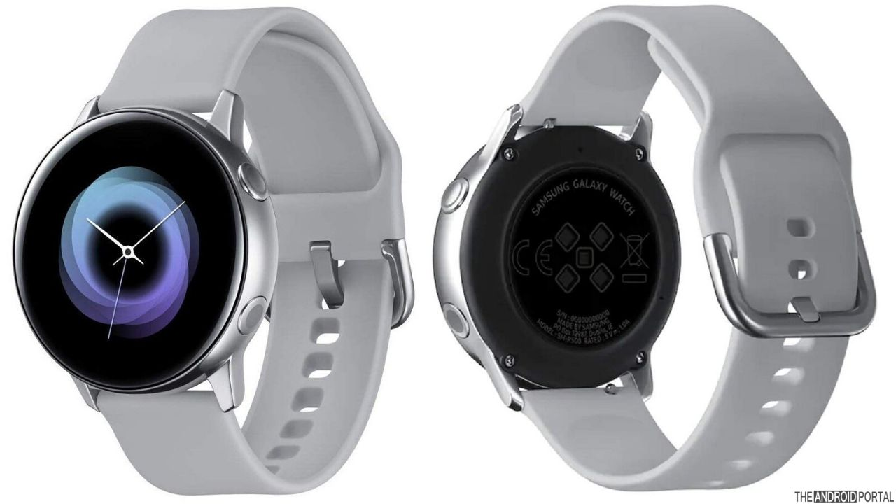 Samsung Galaxy Watch Active Fitness And Activity Tracker
