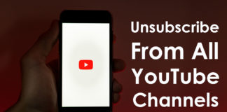 How To Unsubscribe From All YouTube Channels