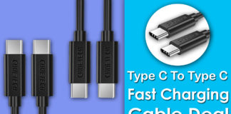 Type C To Type C Fast Charging Cable Deal