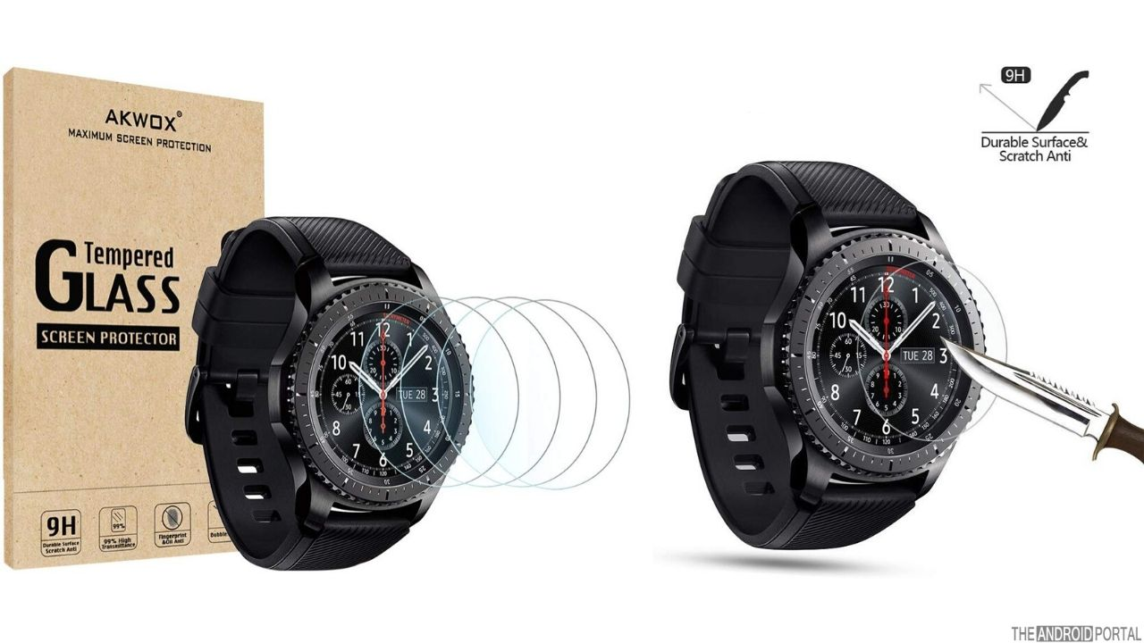 AKWOX Screen Protector for Samsung Gear S3