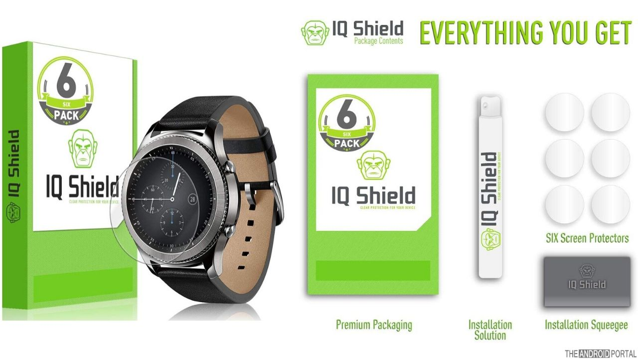 IQ Shield Screen Protector for Samsung Gear S3 (1)