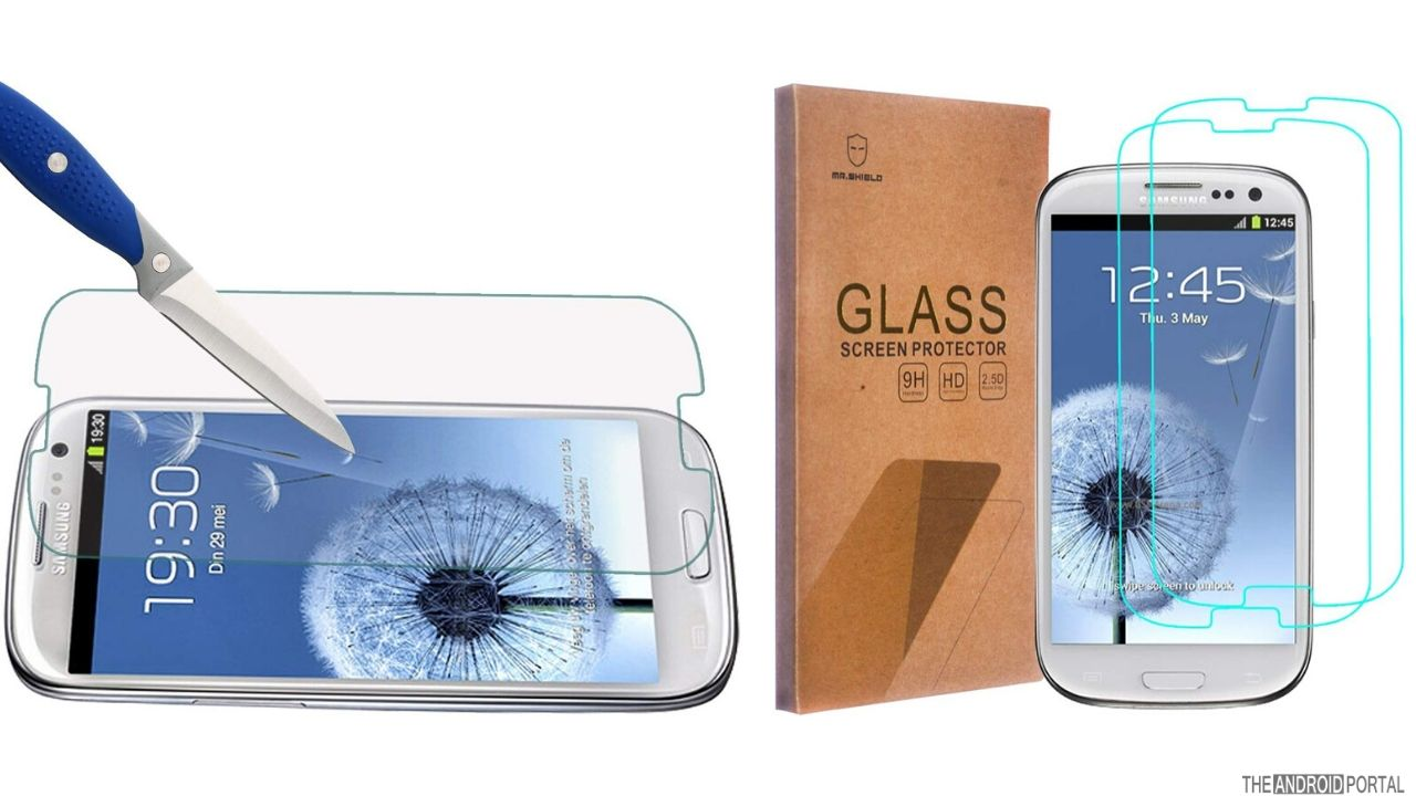 Mr. Shield Screen Protector for Samsung Galaxy S3