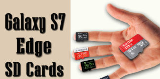 Best Micro SD Cards for Galaxy S7 and S7 Edge.