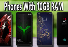 Best Mobile Phones With 10GB RAM.