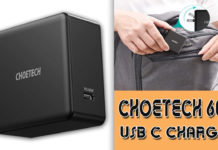 Choetech 60W USB C Charger Deal