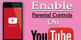 Enable Parental Controls on YouTube