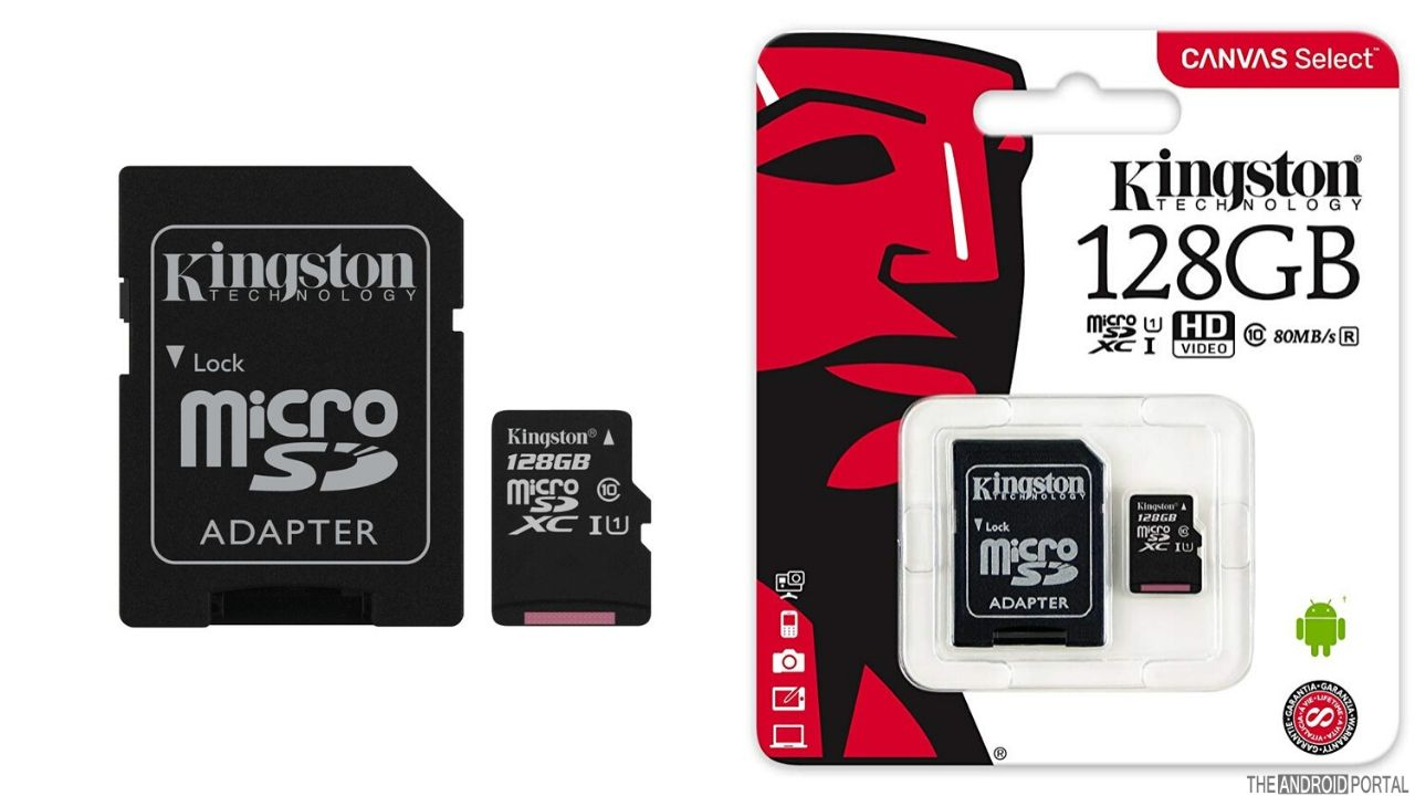 Kingston Canvas Select 128GB Micro SDHC Cards