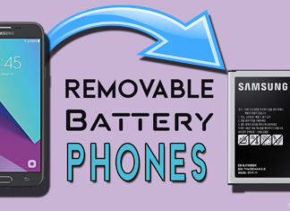 Removable Battery Phones