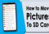 How to Move Pictures to SD Cards