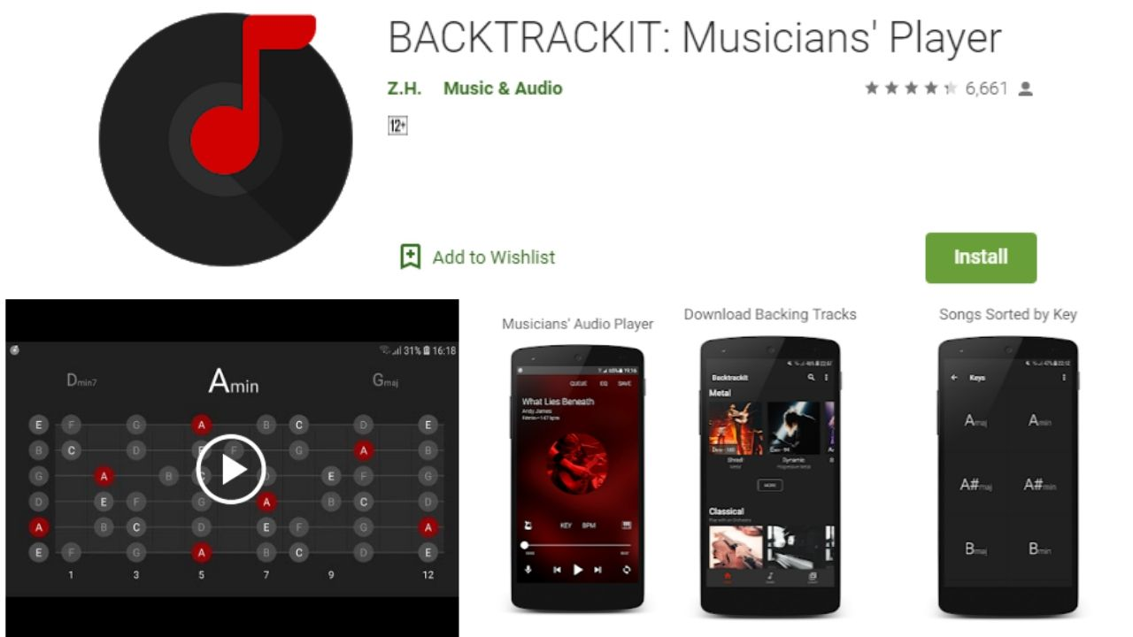 BACKTRACK Kit Musicians Player