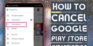 How To Cancel Google Play Store Subscription