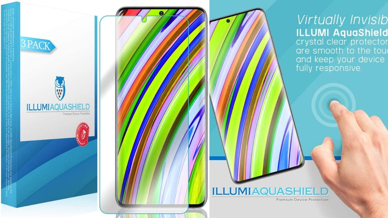 ILLUMI AquaShield Screen Protector for Samsung Galaxy S20+