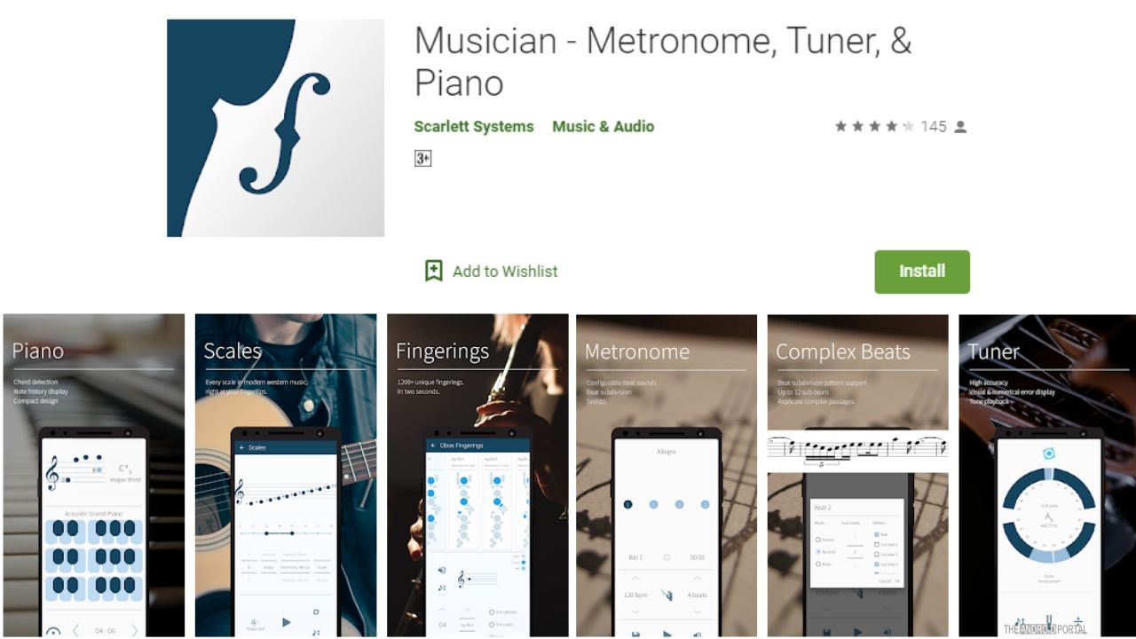 Musician- Metronome, Tuner and Piano