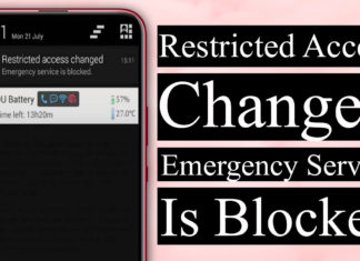 Restricted Access Changed