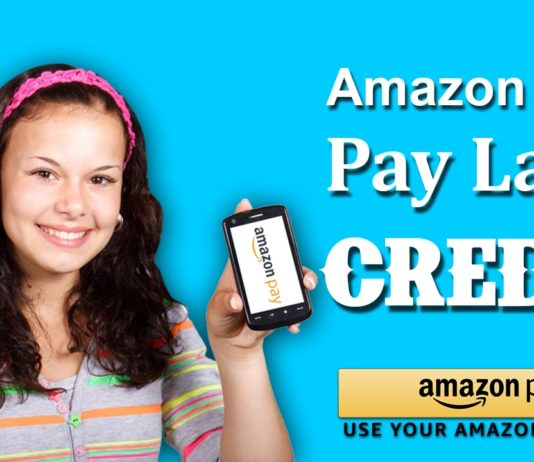 Amazon India Pay Later Credit.