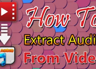 Extract Audio From Video On Android..