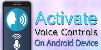How To Activate Voice Controls On Android Device