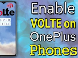 How To Enable VOLTE on OnePlus Devices.