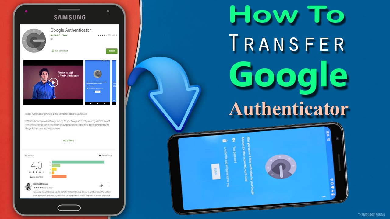 How To Transfer Google Authenticator to Another Android?