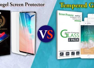 Hydrogel Screen Protector Vs Tempered Glass