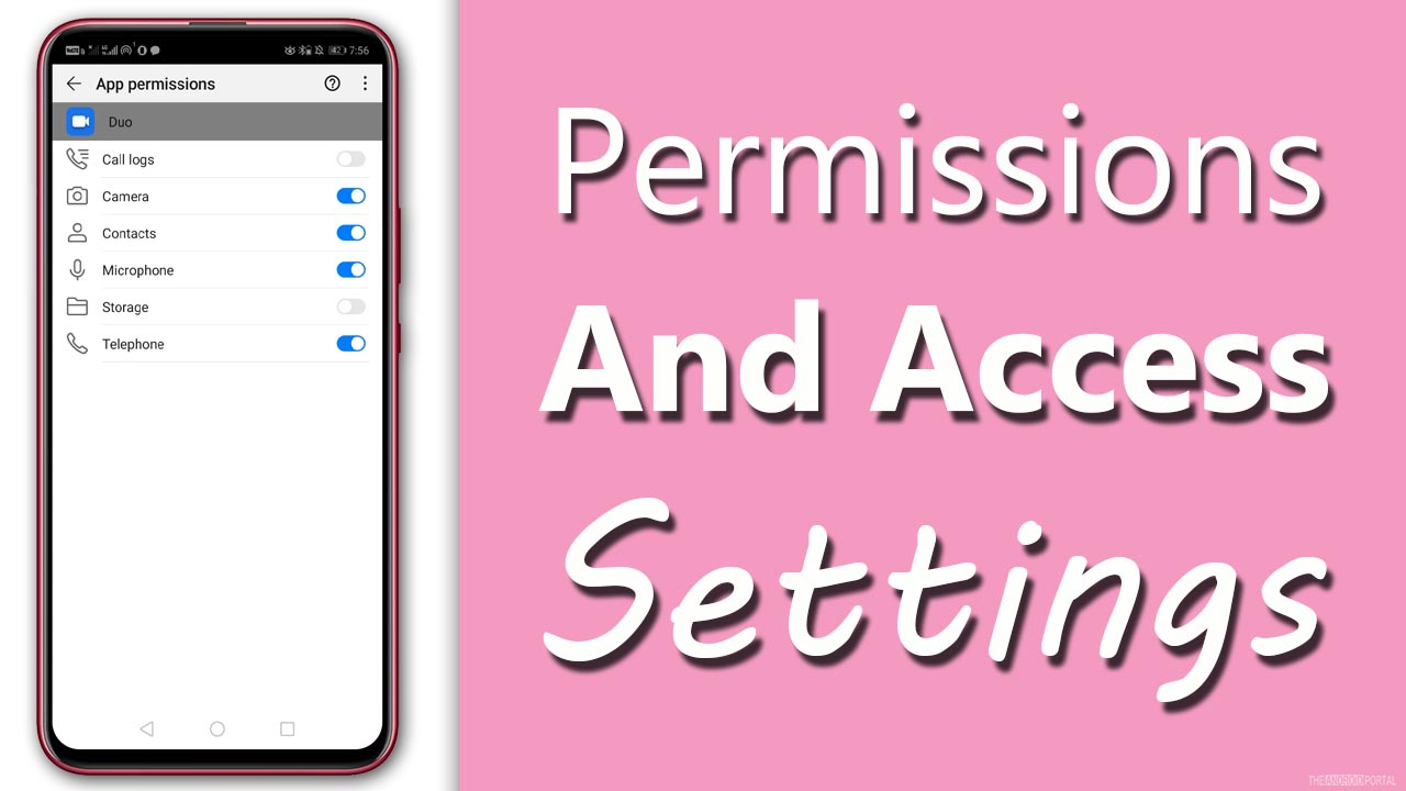 Permissions and Access Settings