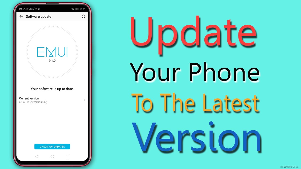 Update Your Phone To The Latest Version
