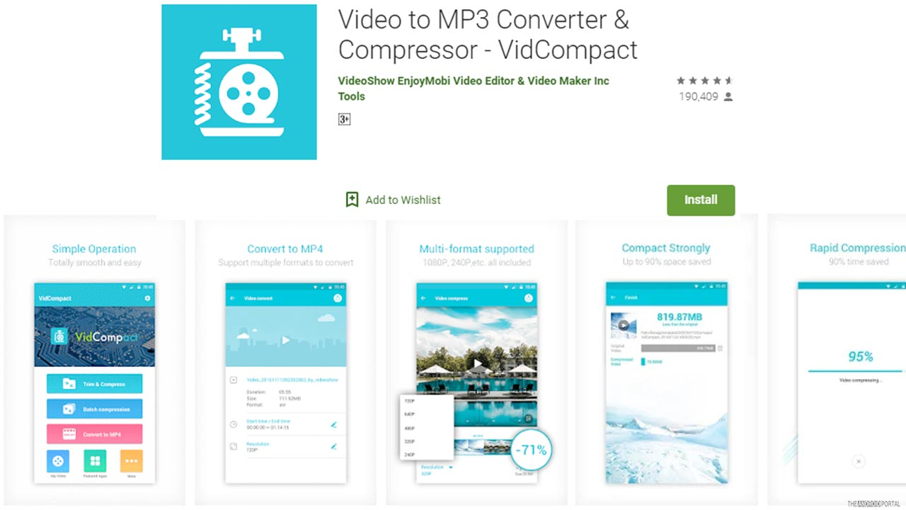 Video To MP3 Converter And Compressor