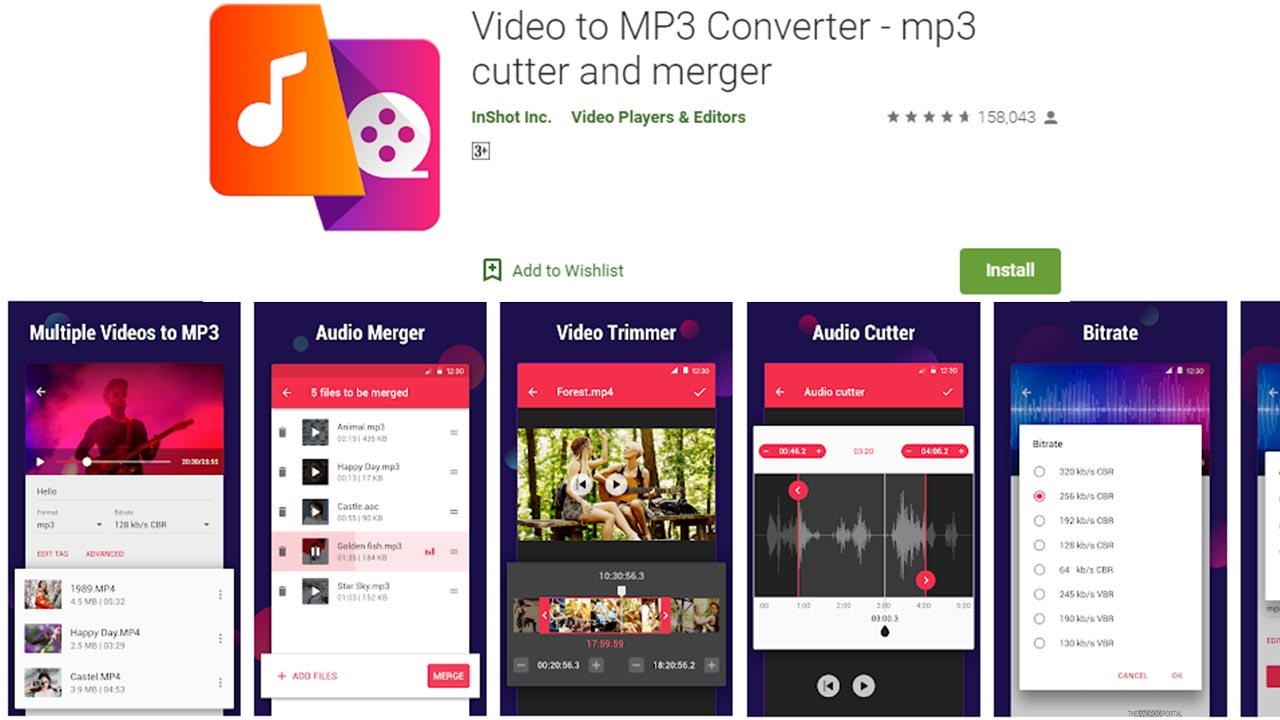 Video To MP3 Converter By Inshot