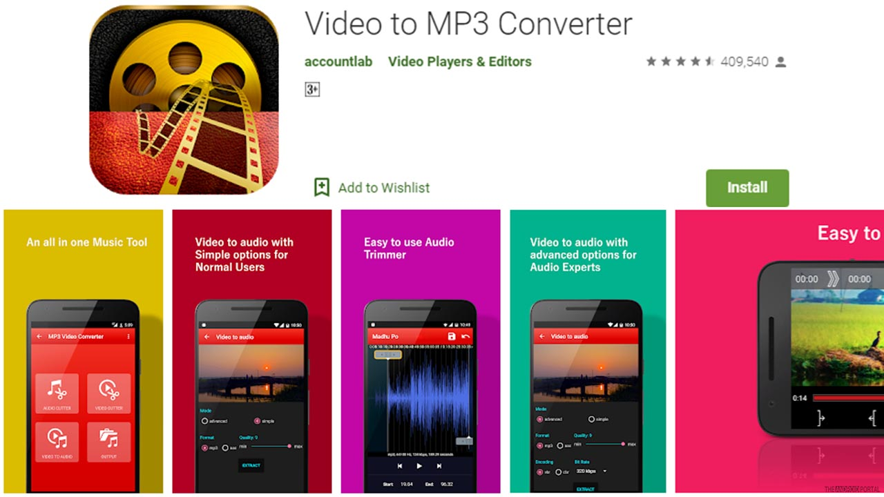 Video To MP3 Converter.