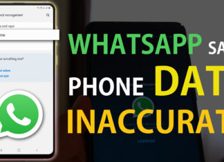 How To Fix Whatsapp Says Phone Date Inaccurate Issue