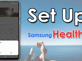 How To Set Up Samsung Health On Your Android Device