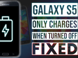 Samsung Galaxy S5 Only Charges When Turned Off Issue - FIXED!.