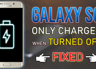 Samsung Galaxy S6 Only Charges When Turned Off - FIXED!.