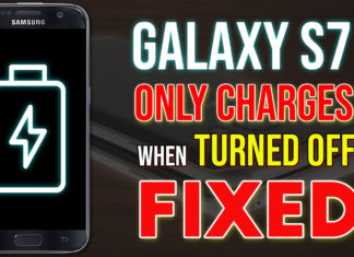 Samsung Galaxy S7 Only Charges When Turned Off - FIXED!