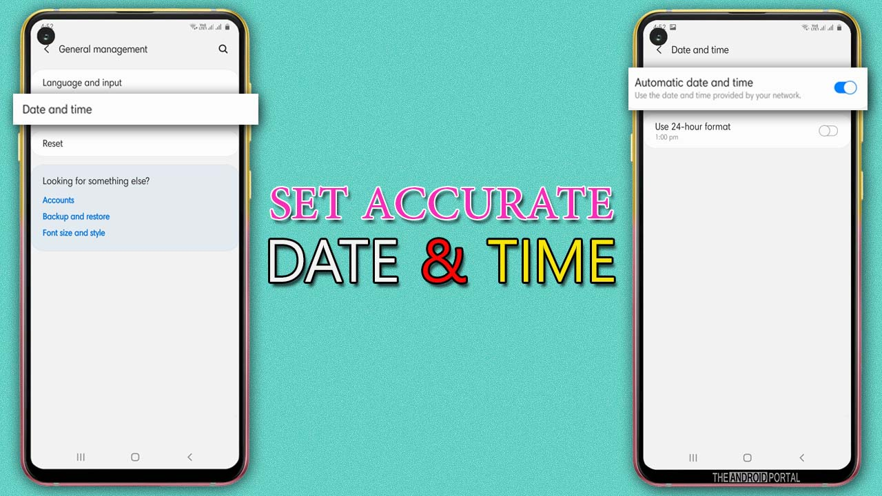Set Accurate Date and Time on Your Device