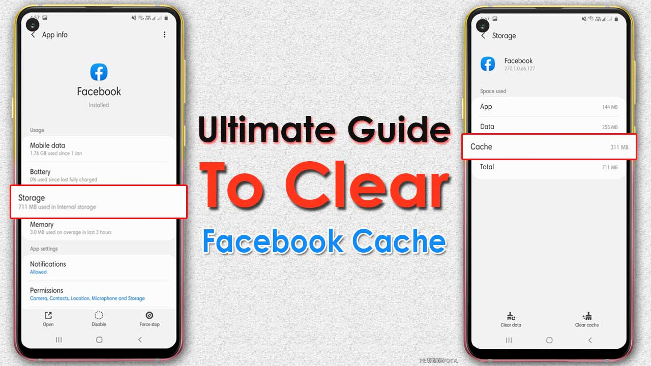 Ultimate Guide To Clear Facebook Cache On Android1