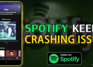 How To Fix Spotify Keeps Crashing Issue