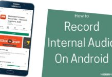 How To Record Internal Audio On Android