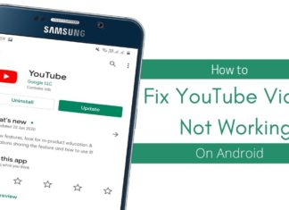 How to Fix YouTube Videos Not Working On Android