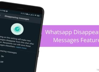 Enable - Disable Whatsapp Disappearing Messages