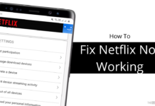 How To Fix Netflix Not Working Issues