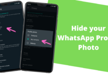 How To Hide your WhatsApp Profile Photo