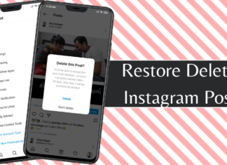 Instagram Now Lets You Restore Recently Deleted Posts