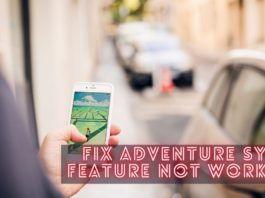 Fix Adventure Sync Feature Not Working